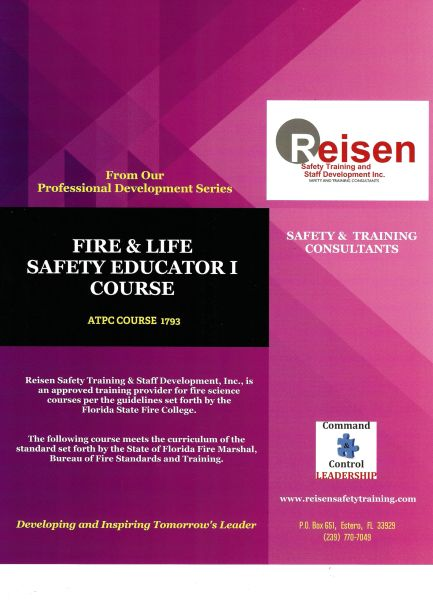 Fire & Life Safety Educator I Course PowerPoint Manual