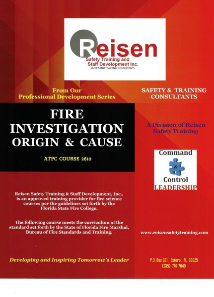 Fire Investigation: Origin and Cause Course PowerPoint Manual