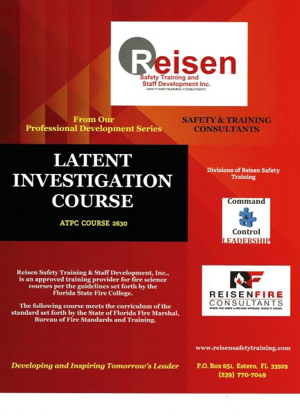 Latent Investigation Course PowerPoint Manual