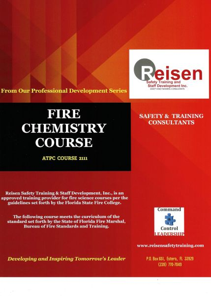 Fire Chemistry Course PowerPoint Manual