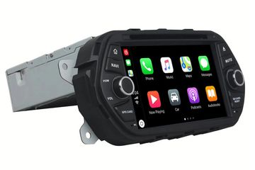 In Dash 1 Din 7 Inch Android 9.0 Car Multimedia Carplay Android Auto For Fiat Egea (2016-2018)
