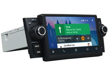 In Dash 1 Din 7 Inch Android 9.0 Car Multimedia Carplay Android Auto For Fiat Linea (2007-2013)