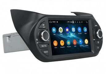 In Dash 1 Din 7 Inch Android 9.0 Car Multimedia Carplay Android Auto For Fiat Fiorino (2008-2015)