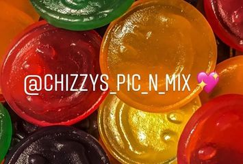 fruit flavour jelly smile  pick and mix sweets sweet shop  worthing hove brighton chizzys pic n mix