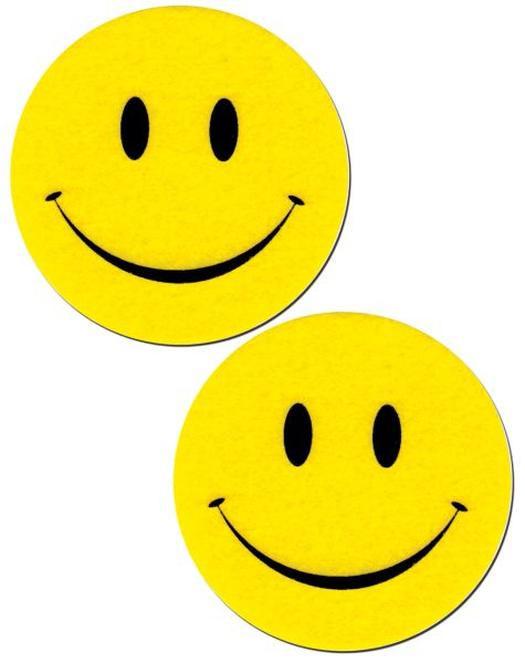 BRIGHT YELLOW SMILEY FACES