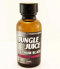 JJ PLATINUM BLACK CLEANING LIQUID 30ML - 1oz