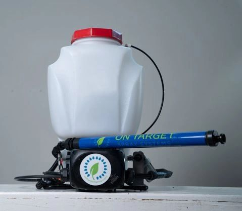 On Target, Electrostatic Backpack Sprayer