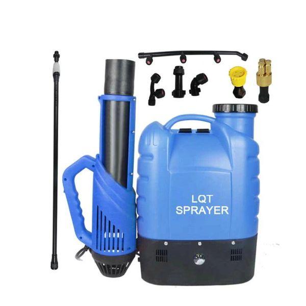 16L 8-in-1 Cordless Electrostatic Backpack Sprayer w/ Mist Blower