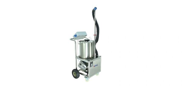 Airofog UE-1 cart mounted ulv cold fogger w/ side mounted fully enclosed blower