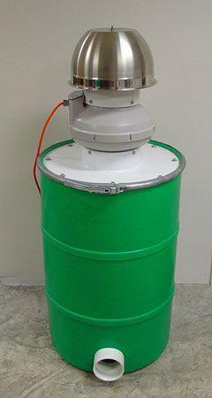 P24-T Pollution Control Barrel