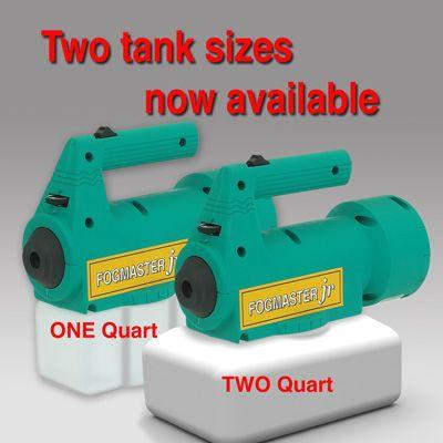 Fogmaster Jr. Case of 18 qty mixed 1- and 2- quart 120V machines
