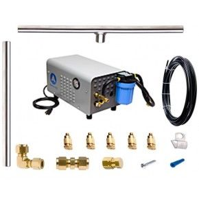 Aeromist 1000 PSI 60' Stainless Steel Misting System w/ Enclosed Pump