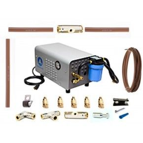 Aeromist 1000 PSI 60' Nylon Misting System w/ Enclosed Pump