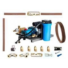 Aeromist 1000 PSI 70' Nylon Misting System w/ Direct-Drive Pump