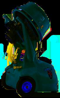 Aquafog Explosion-Proof HRSM Mobile, Nozzle-Free Atomization Fan