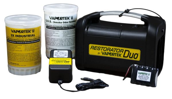 Vaportek Restorator DUO Battery Version Combo package