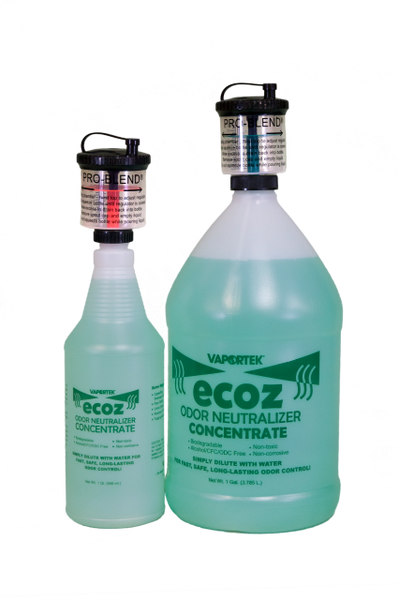 Vaportek ECOZ Water Soluble Odor Controller, Concentrate