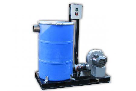 Pollution Control Barrel, 90CFM Adsorber
