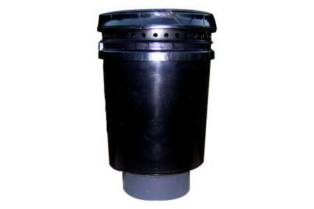 Mega Wolverine 20LB Odor Adsorber Barrel, 20CFM Max