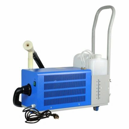 In stock, 110V, 10L 1400W Disinfectant/Sterilzation ULV cold fogger with flex hose and portable cart wheel design