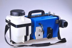 In stock, 5L cordless, lithium battery ulv cold fogger w/flex hose, carry strap (110V charger)