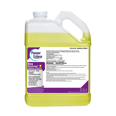 Lemon Scent EPA Registered Germicidal Disinfectant, 4 x 1 gallon case