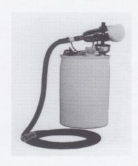 Fogmaster 4180 Sewr-Jet Drum Mounted Fogger with 15' nozzle on flex hose