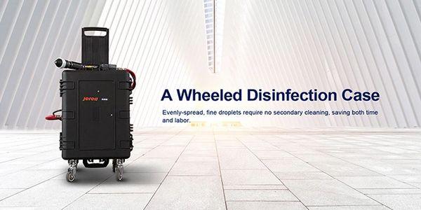 Jereh C-Create Cordless Electrostatic Disinfecting Suitcase