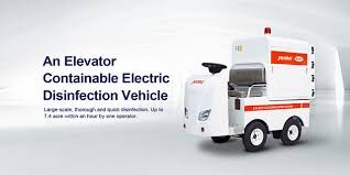 Jereh C-Create Electrostatic Electric Disinfecting Vehicle