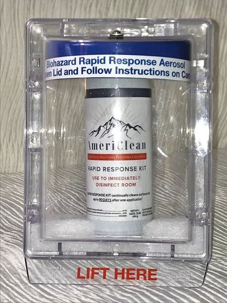 Antimicrobial Emergency Response Kit w/ Total Release Aerosol (ADA Compliant)