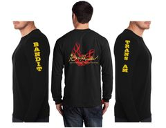 "Burt Reynolds ""Firebird"" Logo Long Sleeve TShirt"