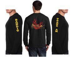 "Burt Reynolds ""Firebird"" Logo Long Sleeve TShirt"