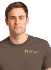 Burt Reynolds Institute Logo T-Shirt - Chestnut