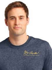 Burt Reynolds Institute Logo T-Shirt - Heather Navy