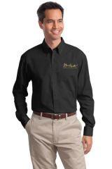 Burt Reynolds Long Sleeve Embroidered Work Shirt