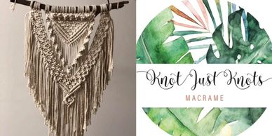 sunshine coast macrame, whats on noosa, maker space, creative womens circle,   lipstick lane ,