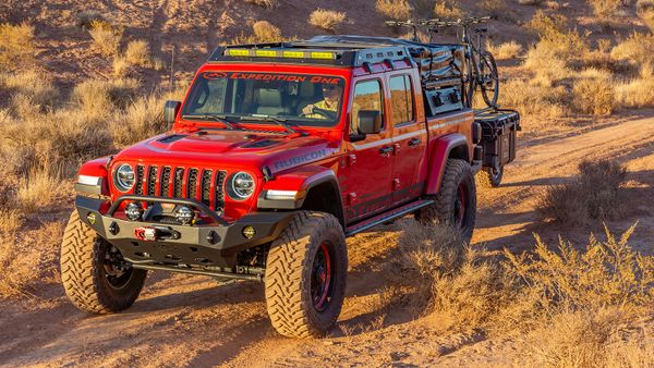 Gladiator Mule Ultra Roof Rack Expedition One