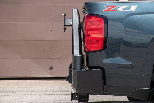 15 Chevy 1500 2500 3500 Dual Swing Rear Bumper