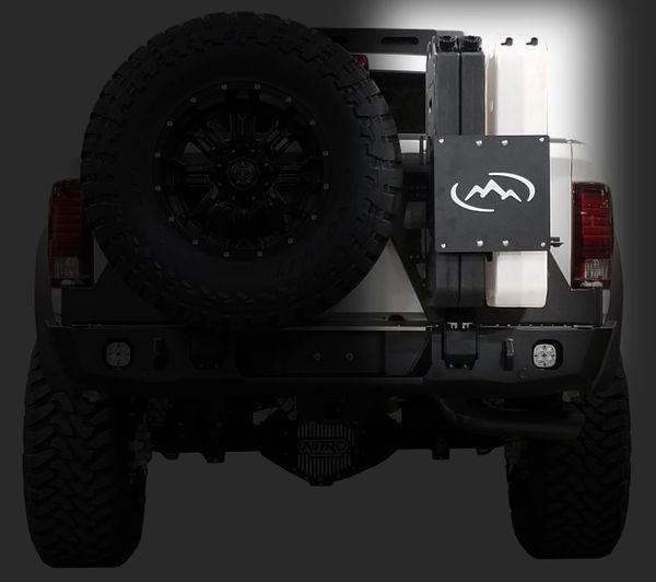 4 Geri Pack Mount System For Full Size Dual Swing Trucks
