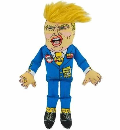 Donald Trump Presidential Parody Plush by Fuzzu