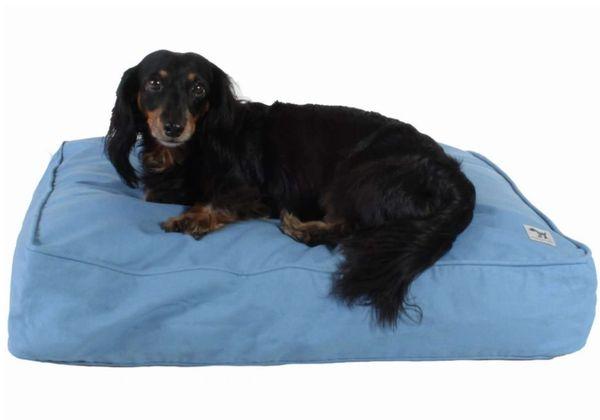 Caribbean Blue Dog Bed Duvet by Molly Mutt
