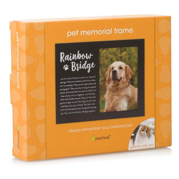 Rainbow Bridge Pet Memorial Frame by Pearhead