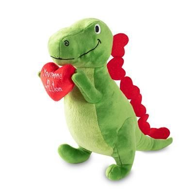'Love to Last a Million Years' T-Rex Plush by Fringe Toybox