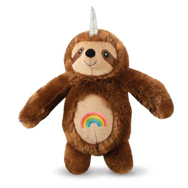 """""""Lucky the Rainbow Slothicorn"""" Plush Toy by Fringe Studio"""