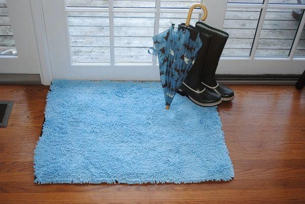 Soggy Doggy Doormat - Blue no Bone