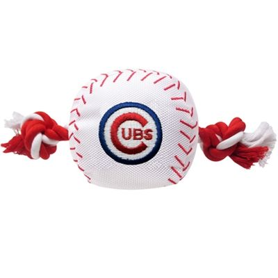 Chicago Cubs Baseball Toy with Rope by Pets First Co