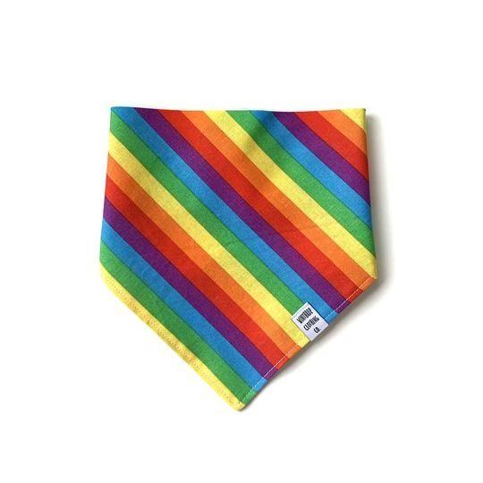 Rainbow Dog Bandana by Winthrop Clothing Co.
