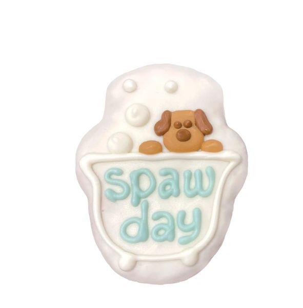 Doggie Stylin' Spaw Days Bath Tub Prepackaged Cookie by Bosco & Roxy's