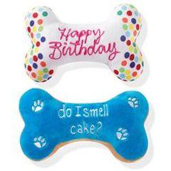 Fringe Pet Studio Birthday Bone