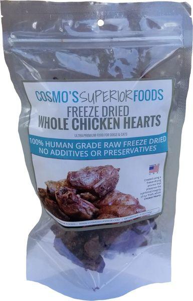 Cosmo's Whole Chicken Hearts - 3oz